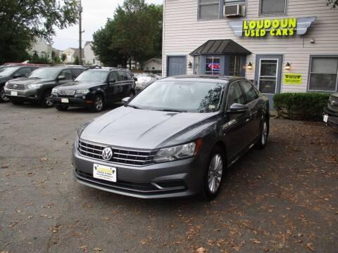 2017 Volkswagen Passat for sale at Loudoun Used Cars in Leesburg VA