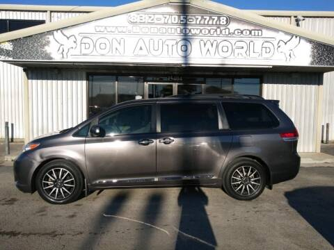 2013 Toyota Sienna for sale at Don Auto World in Houston TX