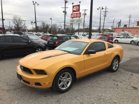 2011 Ford Mustang for sale at 4th Street Auto in Louisville KY