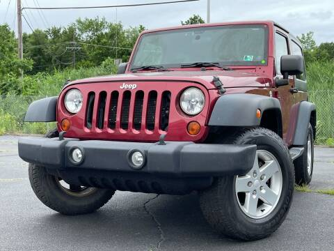 2012 Jeep Wrangler for sale at MAGIC AUTO SALES in Little Ferry NJ