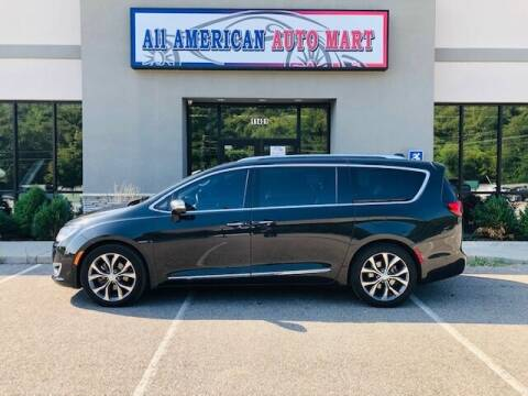 2017 Chrysler Pacifica for sale at ALL AMERICAN AUTO MART in Edwardsville KS