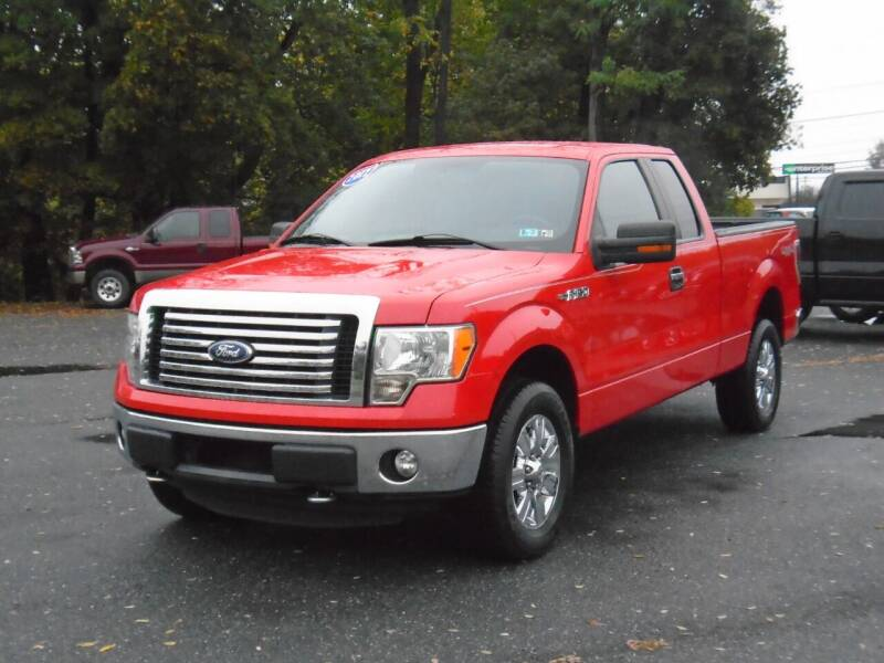2012 Ford F-150 4x4 XLT 4dr SuperCab Styleside 6.5 ft. SB - Westminster MD