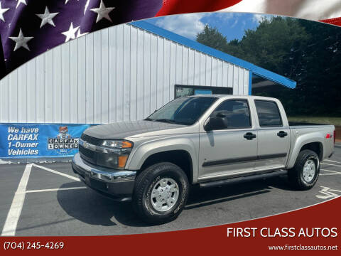 2008 Chevrolet Colorado for sale at First Class Autos in Maiden NC