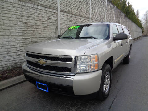 2007 Chevrolet Silverado 1500 for sale at Matthews Motors LLC in Algona WA