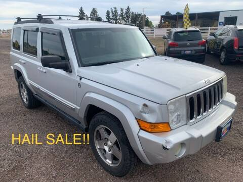 2010 Jeep Commander for sale at Praylea's Auto Sales in Peyton CO