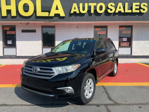 2012 Toyota Highlander for sale at HOLA AUTO SALES CHAMBLEE- BUY HERE PAY HERE - in Atlanta GA