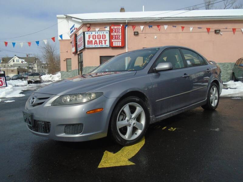2007 Mazda MAZDA6 for sale at Broadway Auto Services in New Britain CT
