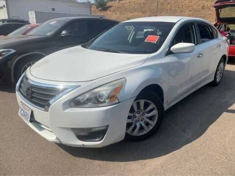 2014 Nissan Altima for sale at WS AUTO SALES INC in El Cajon CA