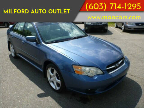 2007 Subaru Legacy for sale at Milford Auto Outlet in Milford NH