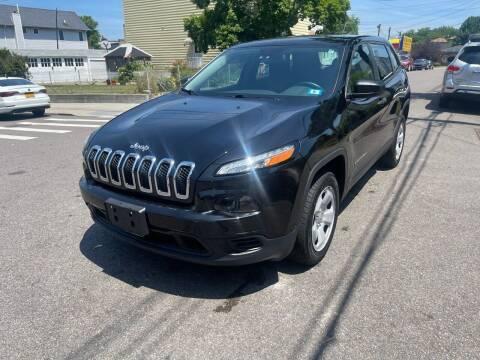 2014 Jeep Cherokee for sale at Kapos Auto, Inc. in Ridgewood NY
