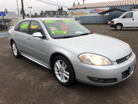 2010 Chevrolet Impala for sale at Freeborn Motors in Lafayette, OR