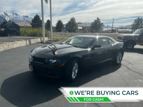 2015 Chevrolet Camaro for sale at Firehouse Auto Sales in Springville UT