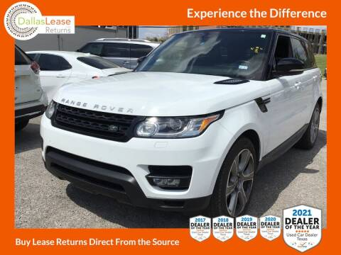 2015 Land Rover Range Rover Sport for sale at Dallas Auto Finance in Dallas TX
