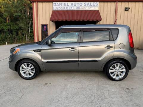 2013 Kia Soul for sale at Daniel Used Auto Sales in Dallas GA