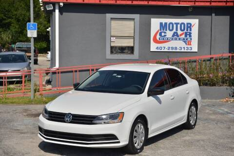 2016 Volkswagen Jetta for sale at Motor Car Concepts II - Kirkman Location in Orlando FL
