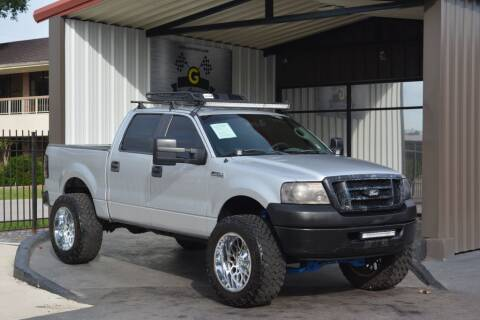 2008 Ford F-150 for sale at G MOTORS in Houston TX