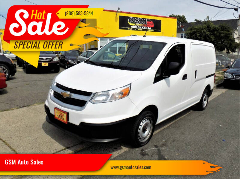 2015 Chevrolet City Express Cargo for sale at GSM Auto Sales in Linden NJ