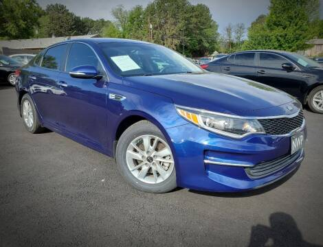 2018 Kia Optima for sale at Northwest Premier Auto Sales in West Richland And Kennewick WA