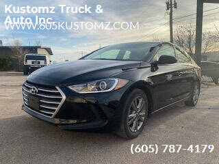 2018 Hyundai Elantra for sale at Kustomz Truck & Auto Inc. in Rapid City SD