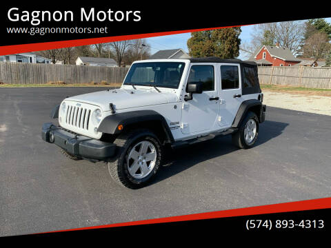 2015 Jeep Wrangler Unlimited for sale at Gagnon  Motors - Gagnon Motors in Akron IN