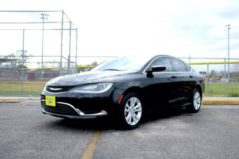 2016 Chrysler 200 for sale at MEGA MOTORS in South Houston TX