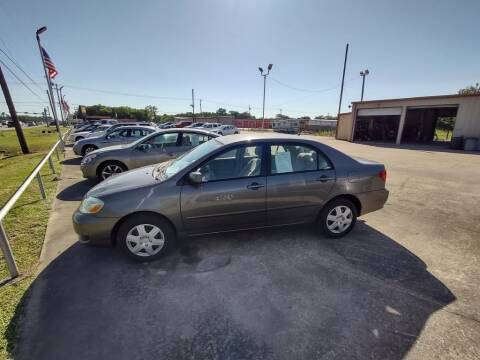 2007 Toyota Corolla for sale at BIG 7 USED CARS INC in League City TX