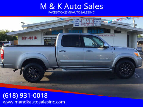 2005 Toyota Tundra for sale at M & K Auto Sales in Granite City IL