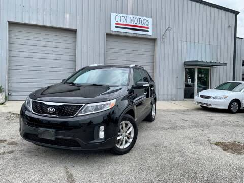 2014 Kia Sorento for sale at CTN MOTORS in Houston TX