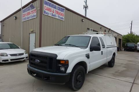 2008 Ford F-250 Super Duty for sale at Universal Credit in Houston TX