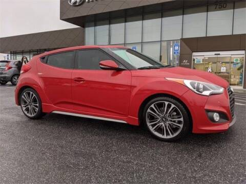 2016 Hyundai Veloster for sale at CU Carfinders in Norcross GA