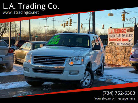 2008 Ford Explorer for sale at L.A. Trading Co. Woodhaven in Woodhaven MI