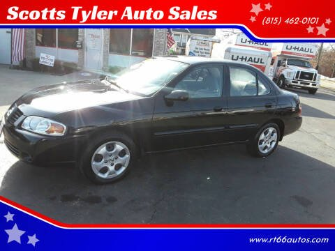 2006 Nissan Sentra for sale at Scotts Tyler Auto Sales in Wilmington IL