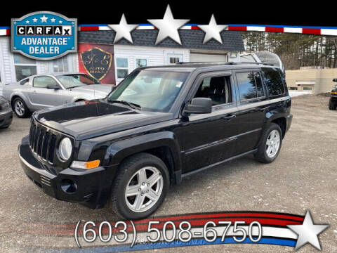 2010 Jeep Patriot for sale at J & E AUTOMALL in Pelham NH