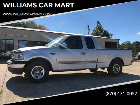 2000 Ford F-150 for sale at WILLIAMS CAR MART in Gassville AR