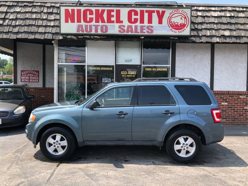 2011 Ford Escape for sale at NICKEL CITY AUTO SALES in Lockport NY