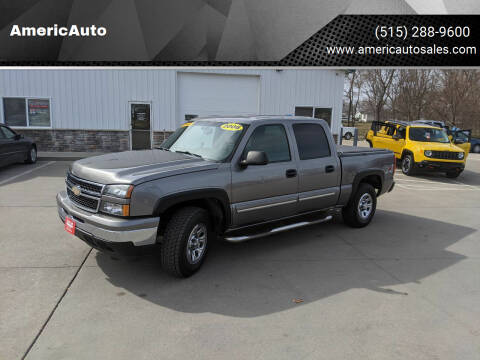 2006 Chevrolet Silverado 1500 for sale at AmericAuto in Des Moines IA