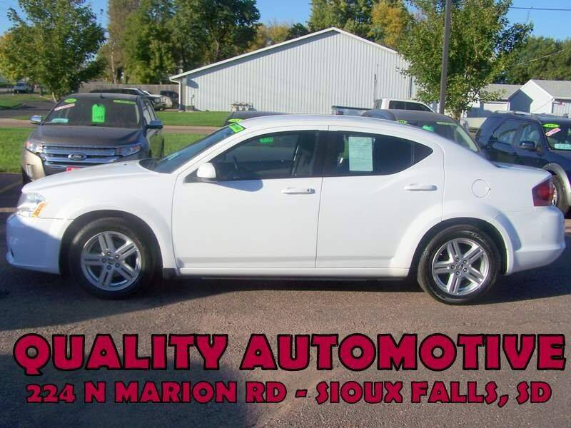 2013 Dodge Avenger for sale at Quality Automotive in Sioux Falls SD