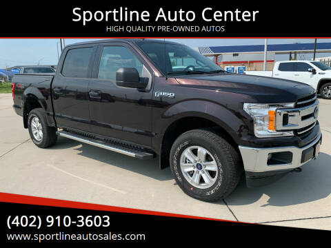 2020 Ford F-150 for sale at Sportline Auto Center in Columbus NE