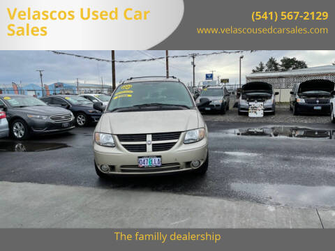 2005 Dodge Grand Caravan for sale at Velascos Used Car Sales in Hermiston OR