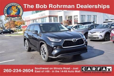 2021 Toyota Highlander for sale at BOB ROHRMAN FORT WAYNE TOYOTA in Fort Wayne IN