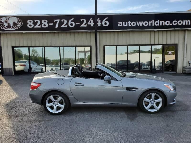 2012 Mercedes-Benz SLK for sale at AutoWorld of Lenoir in Lenoir NC