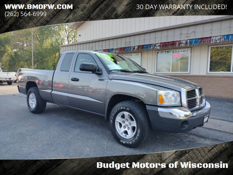 2005 Dodge Dakota for sale at Budget Motors of Wisconsin in Racine WI