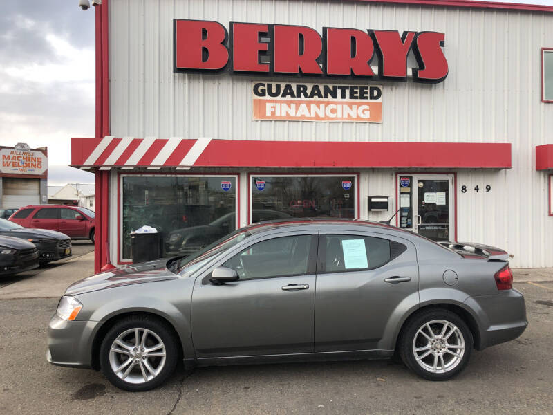 2013 Dodge Avenger for sale at Berry's Cherries Auto in Billings MT