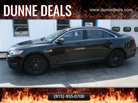 2010 Ford Taurus for sale at Dunne Deals in Crystal Lake IL