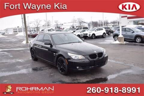 2010 BMW 5 Series for sale at BOB ROHRMAN FORT WAYNE TOYOTA in Fort Wayne IN