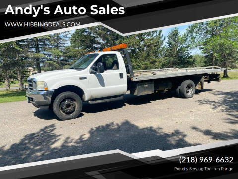 2003 Ford F-550 Super Duty for sale at Andy's Auto Sales in Hibbing MN