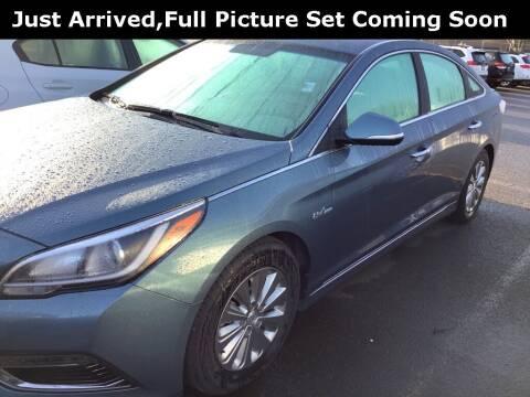 2016 Hyundai Sonata Hybrid for sale at Royal Moore Custom Finance in Hillsboro OR
