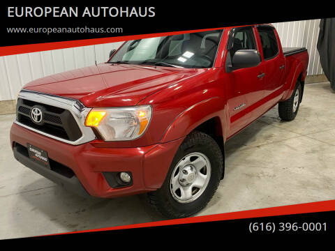 2012 Toyota Tacoma for sale at EUROPEAN AUTOHAUS in Holland MI