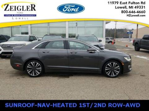 2017 Lincoln MKZ for sale at Zeigler Ford of Plainwell- Jeff Bishop in Plainwell MI