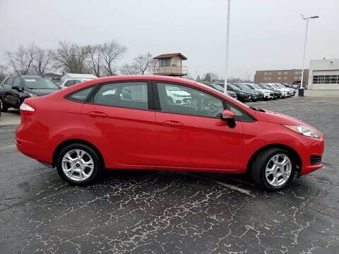 2015 Ford Fiesta for sale at Hawk Chevrolet of Bridgeview in Bridgeview IL